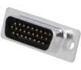 Zástrčka D-Sub HD PIN:26 vidlice lisované kontakty pájení