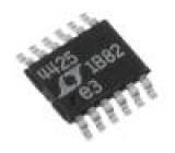 Linear SuperCap charger Uvst:2÷5,5V Ivýst:2A MSOP12