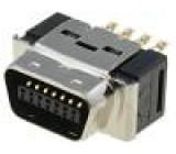 Konektor MDR PIN:14 stíněný na kabel Mat: polyester zástrčka