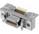 Konektor MDR PIN:14 stíněný Zajištění: zacvaknutí do panelu