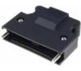 Kryt zástrčky PIN:50 Zajištění: šroubky na kabel