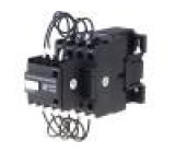 Stykač 3-pólový Montáž: DIN Pomocné kontakty: NC, NO Q1:10kVAR