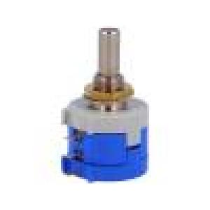 Potenciometr axiální 5kΩ 2W ±5% 6mm lineární drátový