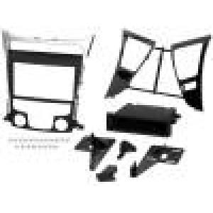 Rámeček pro autorádio 1 DIN,2 DIN Hyundai černá a stříbrná