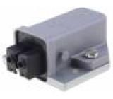 Konektor hranatý ST zásuvka zásuvka PIN:2 kódovaný IP54 16A