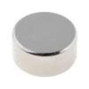 Magnet: konstantní neodymový Ø10x5mm NdFeB 350mT