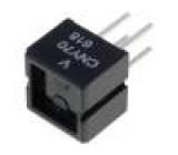 Optočlen reflexní Výst: tranzistorový CTR@If:5%@20mA 32V