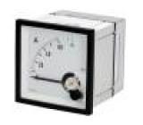 Panel meter  analog 60/120A