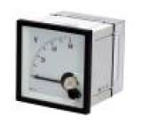 Panel meter  analog 60V