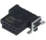Konektor plošný spoj-plošný spoj zásuvka PIN:8 1,27mm 2,3A