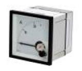 Panelové měřidlo analogový 0÷25A Třída přesností:1,5 IP52