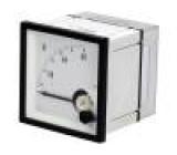 Panelové měřidlo analogový 0÷60V Třída přesností:1,5 IP52