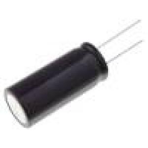 Kondenzátor elektrolytický THT 33uF 400V Ø12,5x25mm ±20%