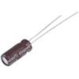 Kondenzátor elektrolytický s nízkou impedancí THT 330uF 10V