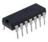 CD74HC164E IC: číslicový 8bit, shift register THT DIP14 Řada: HC 2÷6VDC