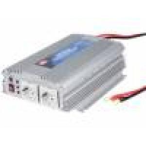 Měnič napětí 12V DC/AC 1000W Uvýst:230VAC Výv: síťové 230 V