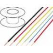 Kabel FLRY licna CU 0,75mm2 PVC červeno-černá 60V