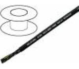 Kabel JZ-600 licna CU 25x1mm2 PVC černá 0,6/1kV