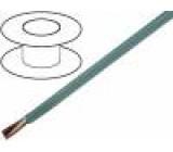 Kabel LiYY licna CU 6x0,14mm2 PVC šedá 300V LIYCY, LIYY