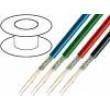 Kabel: mikrofonní 2x0,35mm2 OFC PVC -15÷70°C Ø6,3mm bílá 100m