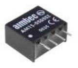 AM1S-0505SZ Převodník: DC/DC 1W Uvst:4,5÷5,5V 5VDC Ivýst:200mA SIP4 1,8g