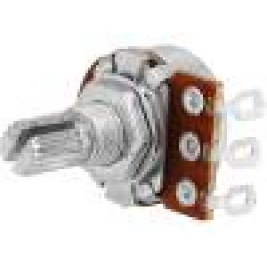 Potenciometr axiální jednootáčkový 22kΩ 63mW ±20% na kabel