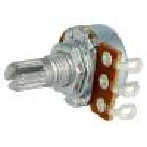 Potenciometr axiální jednootáčkový 50kΩ 63mW ±20% na kabel