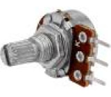 Potenciometr axiální jednootáčkový 10kΩ 125mW ±20% THT 6mm