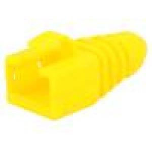 Krytka vidlice RJ45 barva žlutá