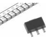 BCX6816H6327XTSA1 Tranzistor: NPN bipolární 20V 1A 3W SOT89