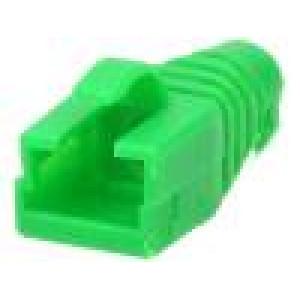 Krytka vidlice RJ45 barva zelená
