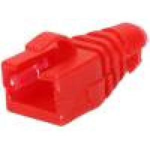 Krytka vidlice RJ45 barva červená