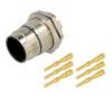 Konektor M23 Zajištění: sešroubováním, vnější závit vidlice