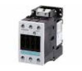Stykač: 3-pólový NO x3 24VAC 40A DIN,na panel 3RT10 Rozměr: S2