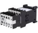 Stykač 8-pólový 230VAC 4A NC x4 + NO x4 DIN