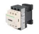 Stykač 3-pólový Pomocné kontakty: NO + NC 110VAC 9A NO x3