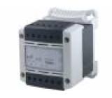 Transformátor bezpečnostní 500VA 230/400VAC 24V Usek.2:48V