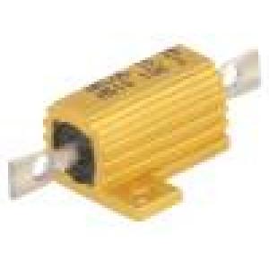 Rezistor drátový s radiátorem přišroubováním 10kΩ 10W ±5%