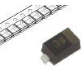 BAT6302VH6327XTSA1 Dioda usměrňovací Schottky 3V 100mA SC79