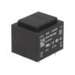 Transformátor: zalévaný 2,1VA 230VAC 21V 100mA Montáž: PCB