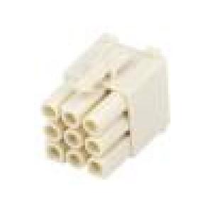 Konektor kabel-kabel/plošný spoj zástrčka bez kontaktů PIN:9