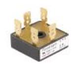 Třífázový usměrňovací můstek 1600V 25A V: čtvercový