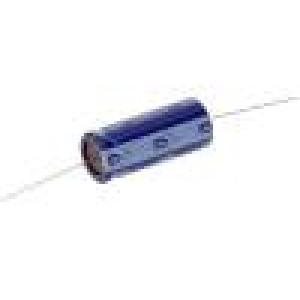 Kondenzátor elektrolytický THT 22uF 160V Ø10x26mm ±20% 120mA