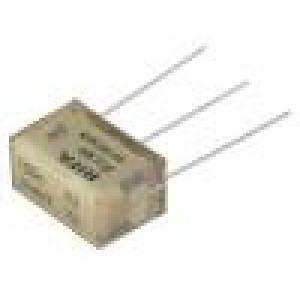 Filtr: odrušovací Cx:100nF Cy:4,7nF Montáž: THT ±20% 275VAC