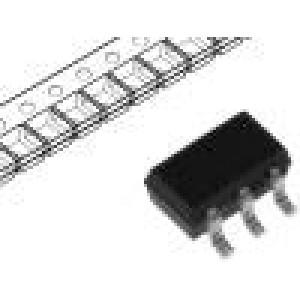 BSD316SNH6327XTSA1 Tranzistor: N-MOSFET unipolární 30V 1,4A 500mW SOT363
