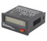 Počitadlo: elektronický Zobrazovač: LCD Počítaná velič: impulsy