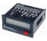 Počitadlo: elektronický Nulování: elektrické, ruční 10÷260VDC