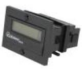 Počitadlo: elektronický Zobrazovač: LCD Rozsah:99999999 IP65