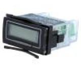 Počitadlo: elektronický Zobrazovač: LCD, podsvětlený IP65