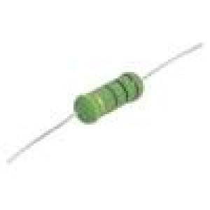 Rezistor drátový vysokonapěťový THT 100Ω 3W ±5% Ø6,5x17,5mm